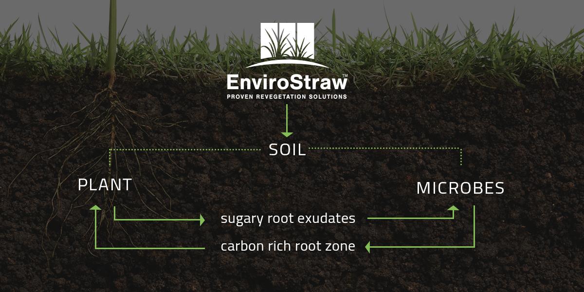 EnviroStraw soil balancing