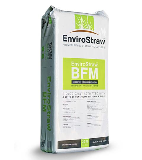 hydraulic growth media bonded fibre matrix product